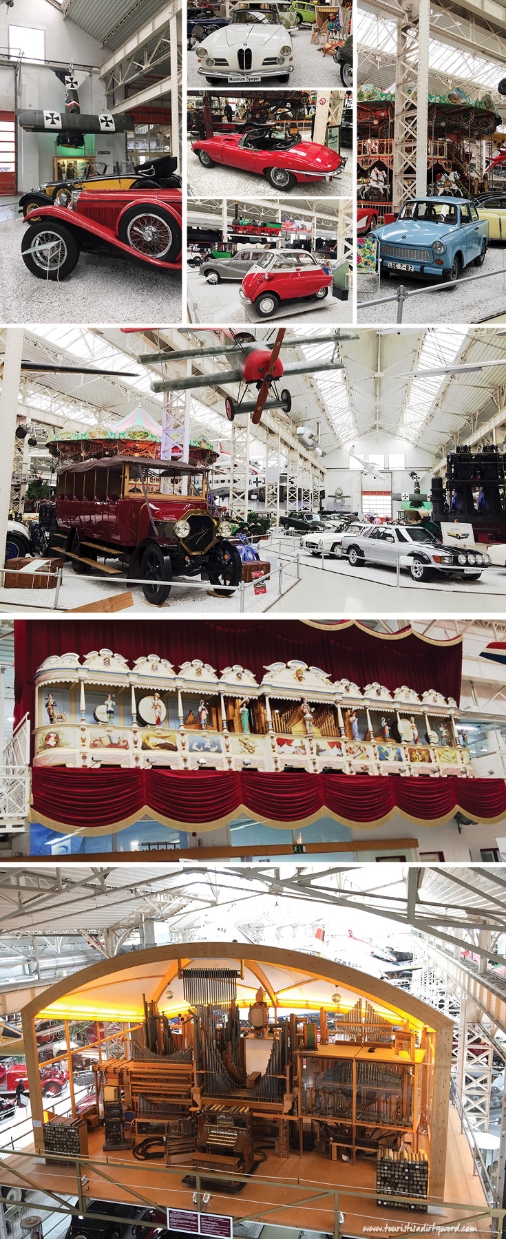 "In the huge hall called ""Liller Halle"", a factory building from 1913, you'll discover trains, planes, cars, carousels, and more."