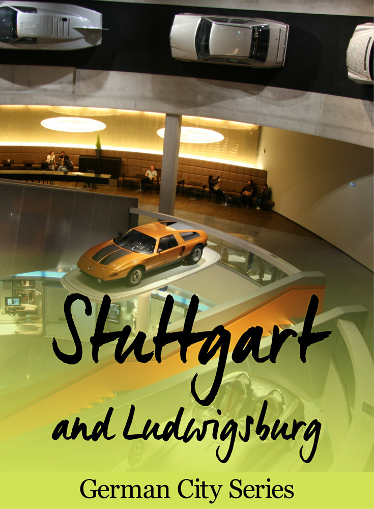 Introduction to this month's city feature: Stuttgart, Germany and neighboring Ludwigsburg