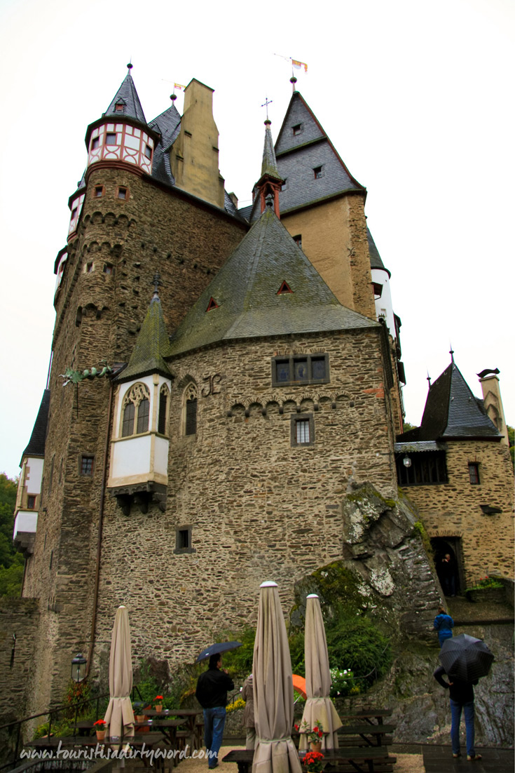 Built onto a rock, German medieval castle Burg Eltz has been inhabited for over 800 years.