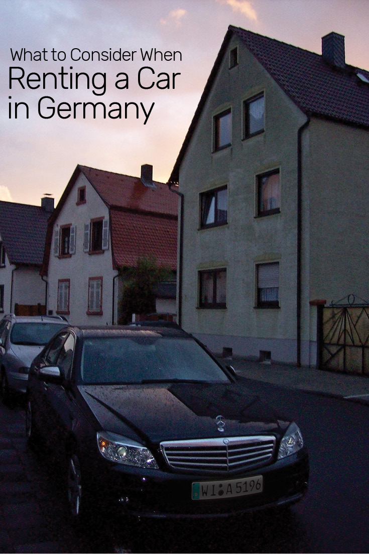 What to Consider When Renting a Car in Germany